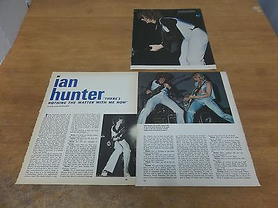 Ian Hunter  clipping #719