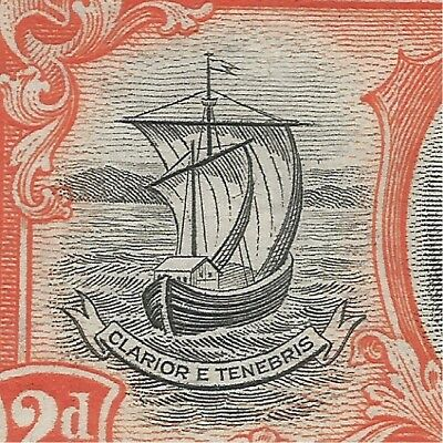 Grenada sg 156 with partial line on sail mounted mint
