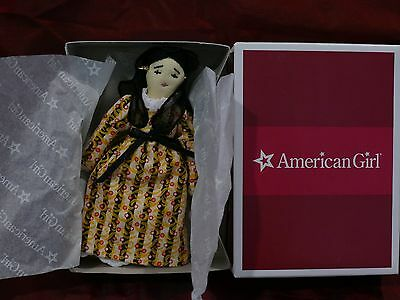 Tiny Miniature Josefinas Tiny Rag Doll. Mint Nrfb Dated 2010 Only 5 Inches Tall