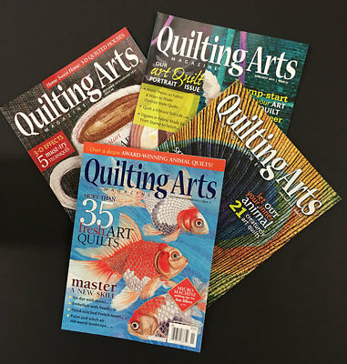 Quilting Arts Mazagines
