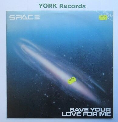 "SPACE - Save Your Love For Me - Excellent Condition 12"" Single Pye 12P 5004"