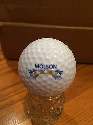 Molson Exel Beer Golf Ball, Old Vintage