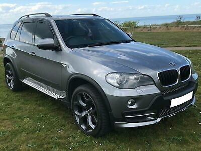 Tinted Front Rear Window 4pc Set Heko Wind Deflectors Acrylic for BMW X5 (06-13)