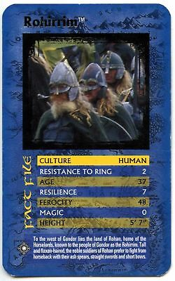 Rohirrim - The Lord Of The Rings The Return Of The King Top Trumps Card (C448)