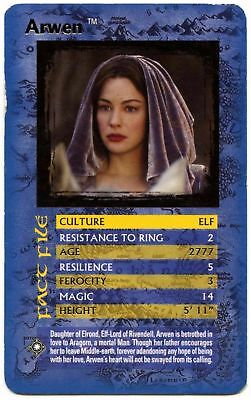 Arwen - Lord Of The Rings The Return Of The King Specials Top Trumps Card (C451)