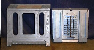 Mills FOK free play antique slot machine castings, lot of 2
