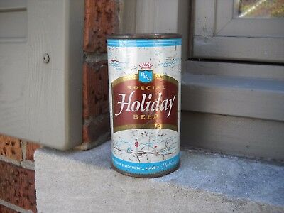 Holiday Special -  Empty 12 oz Flat Top can - OFF GRADE, Potosi Brewing Co.  WIS