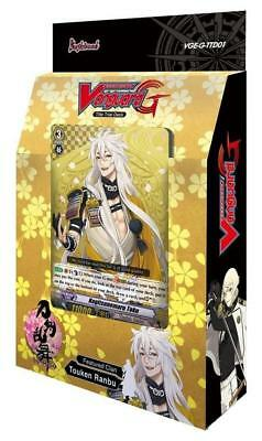 TOUKEN RANBU (ONLINE) TRIAL DECK Weiss Schwarz Factory Sealed ENGLISH Bushiroad