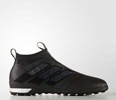 Men's Professional Soccer Ace Tango 17+ Purecontrol Tf/in Black/wh Shoes  By1942