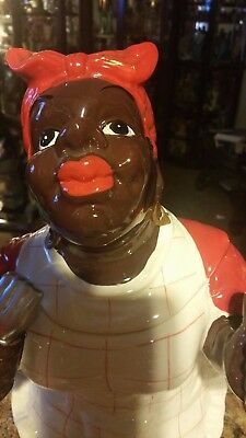 Aunt Jemima cookie jar $ 40.00 CERAMIC REPLICA
