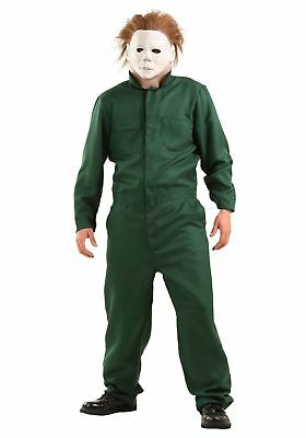 HALLOWEEN 2 MICHAEL MYERS ADULT COVERALLS COSTUME Trick or Treat Studios Horror