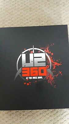 U2 360 At The Rose Bowl. Collectors Box Black