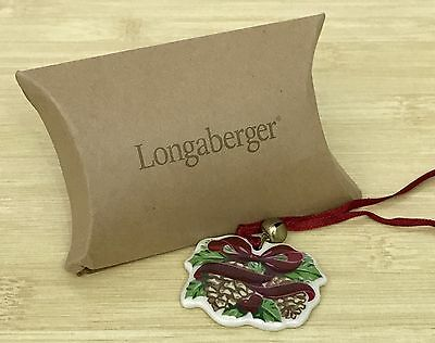 Longaberger 2005 Merry Christmas Tie-on