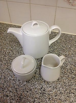 sainsbury Teapot with sugar and milk set. brand new.