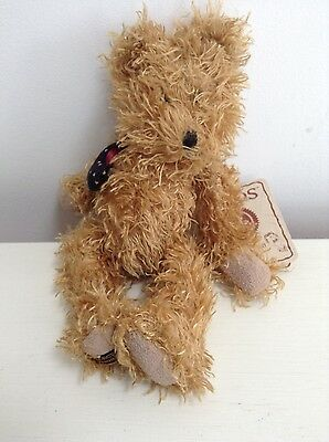 Tiny Teddy, Soft Toy, Still with Tags on by BOYDS The Head Bean Collection