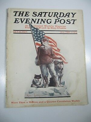 The Saturday Evening Post Magazine- October 16, 1909- Oliver Kemp Illustrated