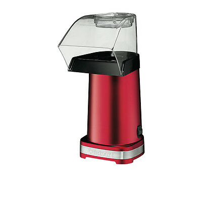 NEW Cuisinart Hot Air Popcorn Machine Metallic Red (RRP $90)