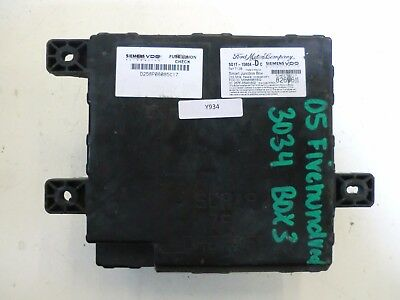 5G1T-15604-Dc | Ford Oem Multifunction Fuse Relay Box Body Control Module Bcm