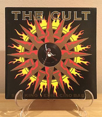 "The Cult - Sun King 7"" Goth Rock Punk Post Punk"