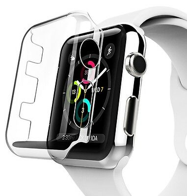 Apple Watch Clear Case Screen Full Body Protector Flexible Cover Bumper Series 3