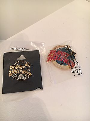 Planet Hollywood Pin and Key Chain