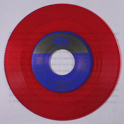 CLEFTONES: My Angel Lover / You Lost The Game Of Love 45 (red wax)