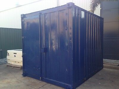 10 Foot Shipping Container, Site Shed