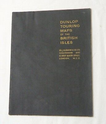 1940s(?), Dunlop Touring Maps of the British Isles, SB, EX COND, NICE MAPS!!