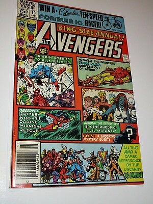 Avengers King-Size Annual 10 - First Appearance of X-Men's Rogue - High Grade
