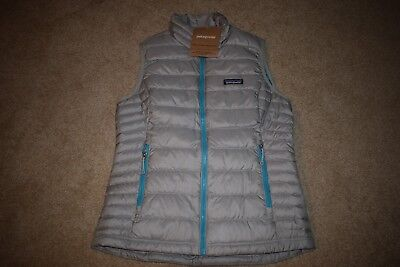 Patagonia Women's Down Sweater Vest Size Small 84628 (Drifter Grey)  NWT