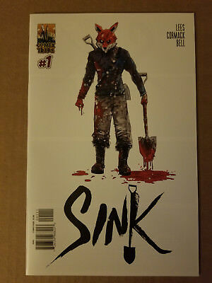 Sink #1 Cover B Nm Sold Out Comixtribe