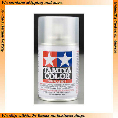 Tamiya Lacquer Paint Spray TS-80 Flat Clear (100ml)