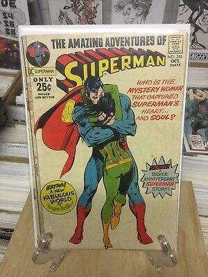Dc Comics  The Amazing Adventures Of Superman  #243  - Bagged & Boarded