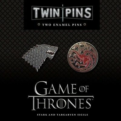 Game Of Thrones Twin Pins Chronicle Books