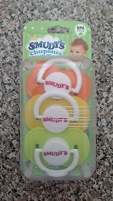 Baby Pacifier Honey soother Chupon con Miel Niño orange,yellow,green