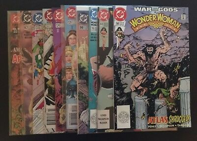 Wonder Woman (2nd Series) Lot of 10 - #58,64,75,99,120,124,127,133,147,Annual 8