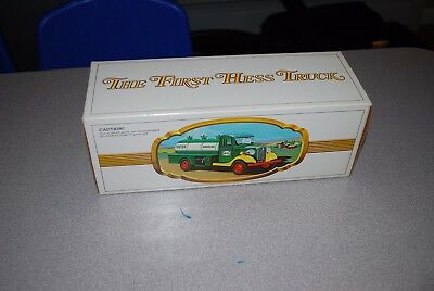 The First Hess Truck 1982 New in Box never displayed