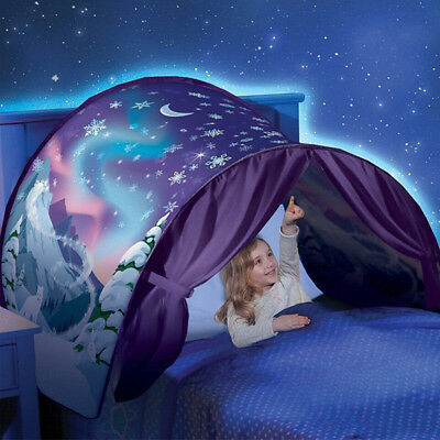 Kids Baby Dream Tents Winter Wonderland NEW Foldable Tent Outdoor Camp Tent  7F