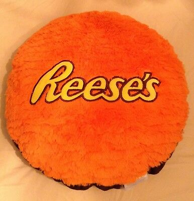 Reese's Peanut Butter Cup Pillow - Gently Used - Throw pillow - Hershey souvenir