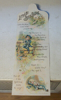 Fold Out Victorian Trade Card Cosmo Buttermilk Toilet Soap Delavan WI Wis 1898