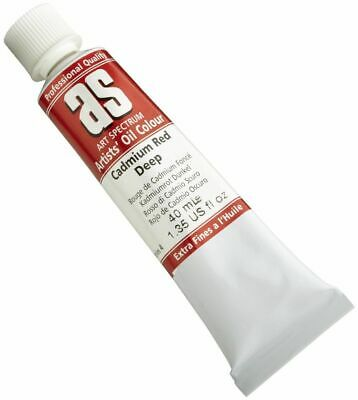 Art Spectrum Oil 40ML Series 4 - Cadmium Red Deep