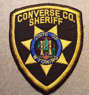 WY Converse County Wyoming Sheriff Patch
