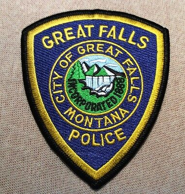 MT Great Falls Montana Police Patch