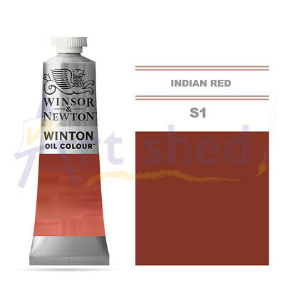 Winsor & Newton Winton Oil Colour 37ml - Indian Red