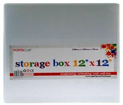 Storage Box 12x12x310x355x35mm