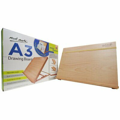 Mont Marte Drawing Board / Easel  With Elastic Band A3