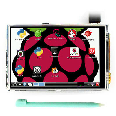 UK Practical 3.5'' LCD Touch Screen Display+Touch Pen For Raspberry pi 3 model B