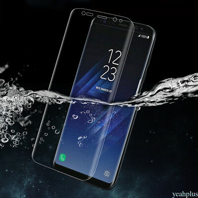 3D Curved Full Cover Soft PET TPU Screen Protector Film For Samsung Galaxy