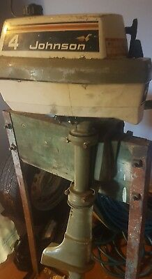 4hp Johnson outboard