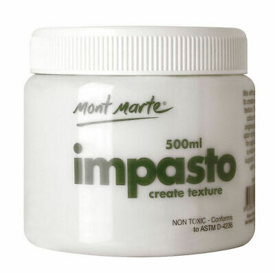 Mont Marte Acrylic Medium - Impasto 500ml